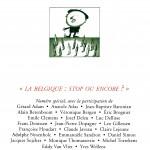 N° 234 – La Belgique : stop ou encore ?