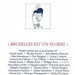 N° 236 – Bruxelles est un pluriel