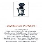 N° 238 – Impressions d'Afrique
